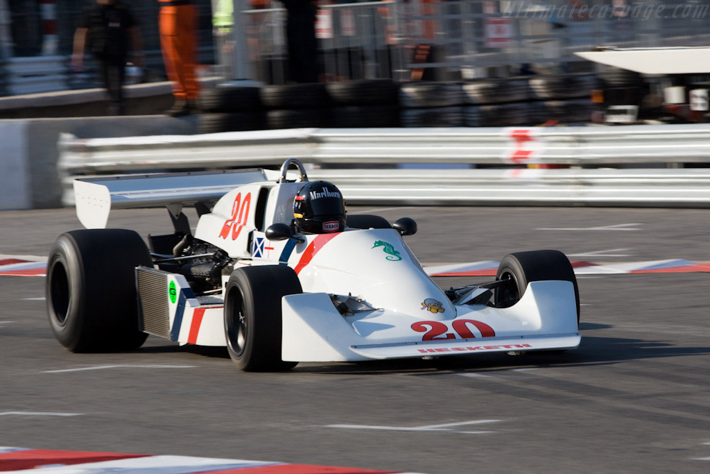 Hesketh 308C Cosworth - Chassis: 308C/1   - 2008 Monaco Historic Grand Prix