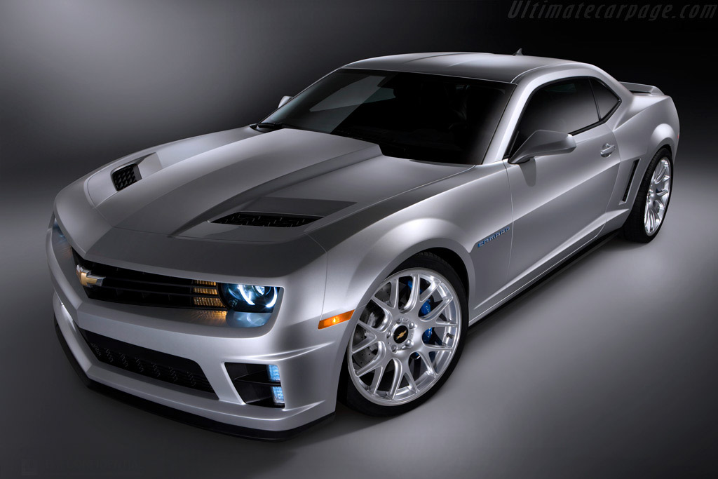 Click here to open the Chevrolet Camaro Jay Leno Concept gallery