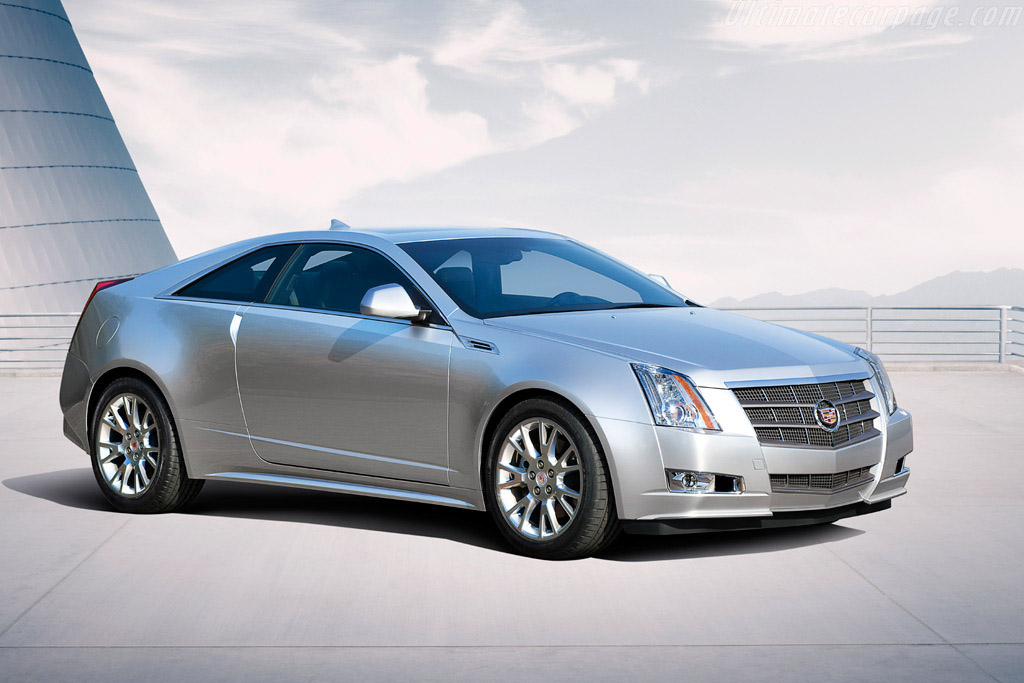 Click here to open the Cadillac CTS Coupe gallery