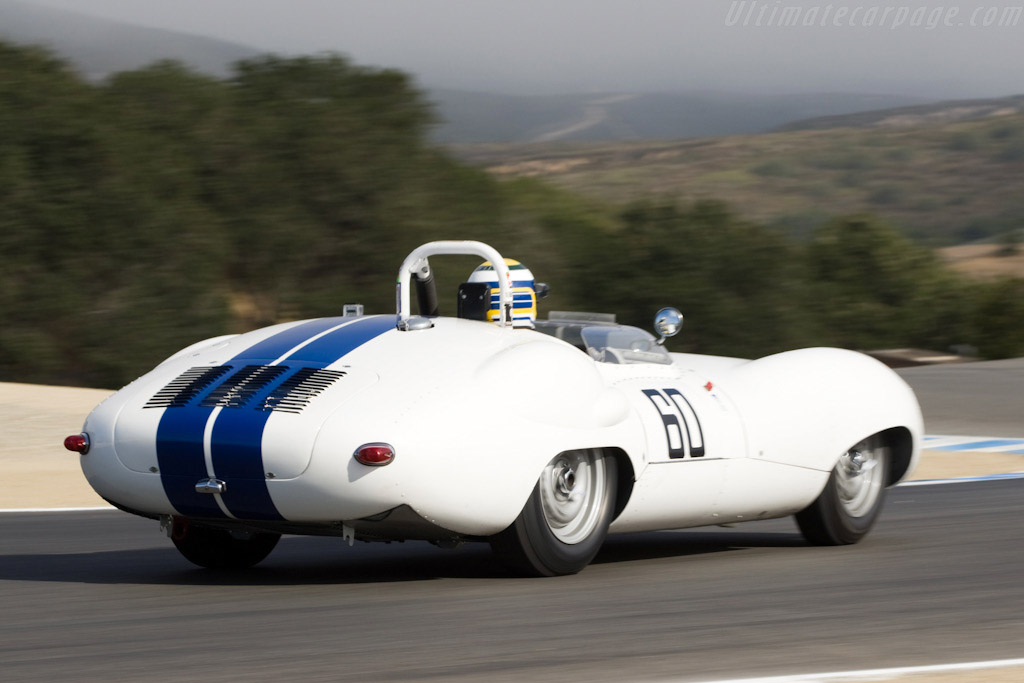 Lister Costin Jaguar - Chassis: BHL 123   - 2008 Monterey Historic Automobile Races