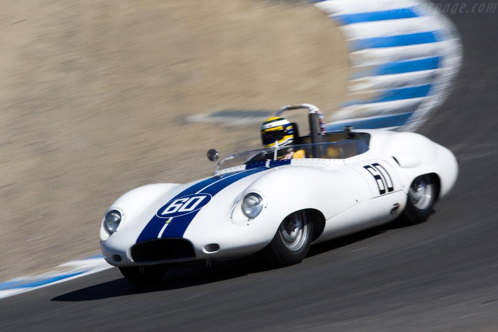 Lister Costin Jaguar - Chassis: BHL 123  - 2008 Monterey Historic Automobile Races