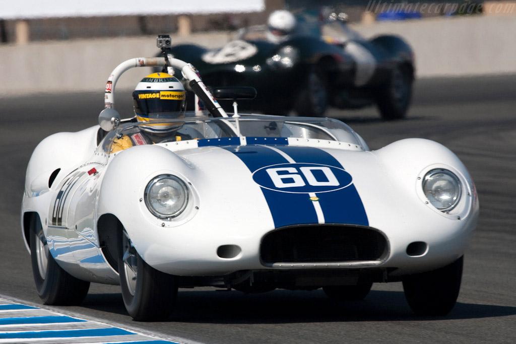 Lister Costin Jaguar - Chassis: BHL 123   - 2009 Monterey Historic Automobile Races