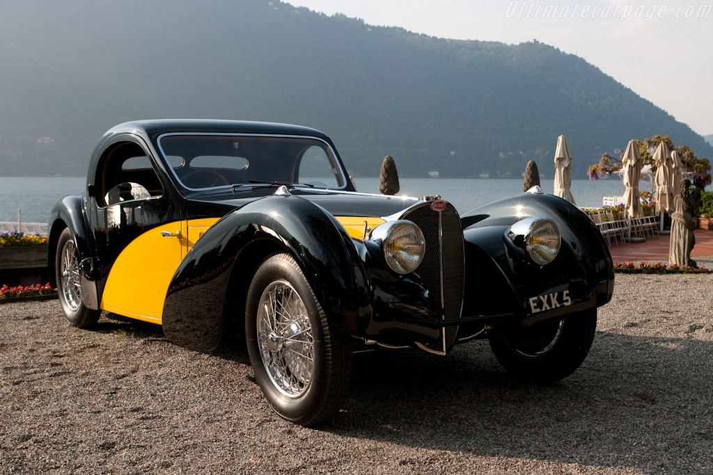 Click here to open the Bugatti Type 57 S Atalante Coupe gallery