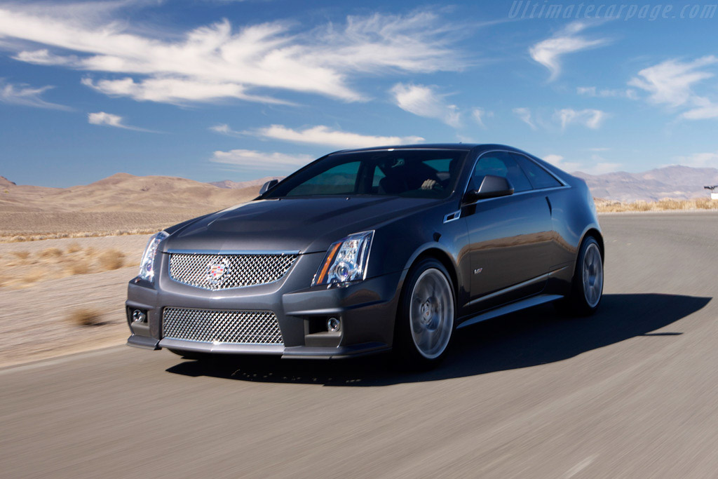 Click here to open the Cadillac CTS-V Coupe gallery