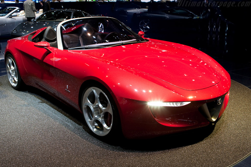 Click here to open the Alfa Romeo 2uettottanta Pininfarina Spider gallery