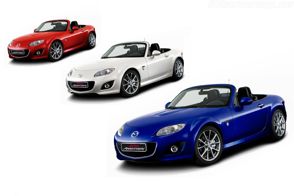 Click here to open the Mazda MX-5 20th Anniversary gallery