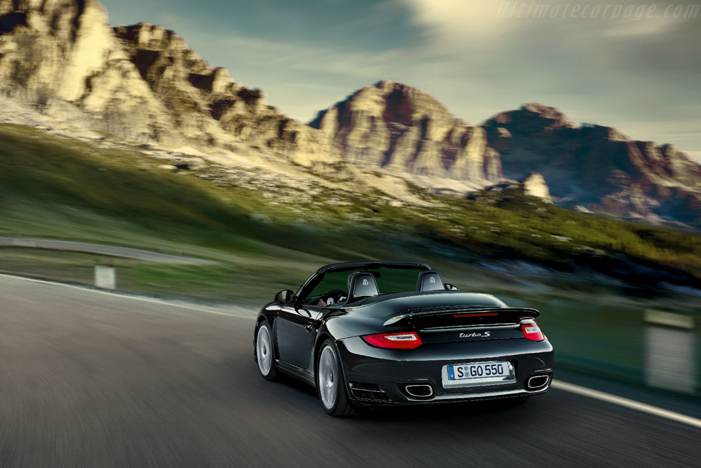 Porsche 997 Turbo S Coupe