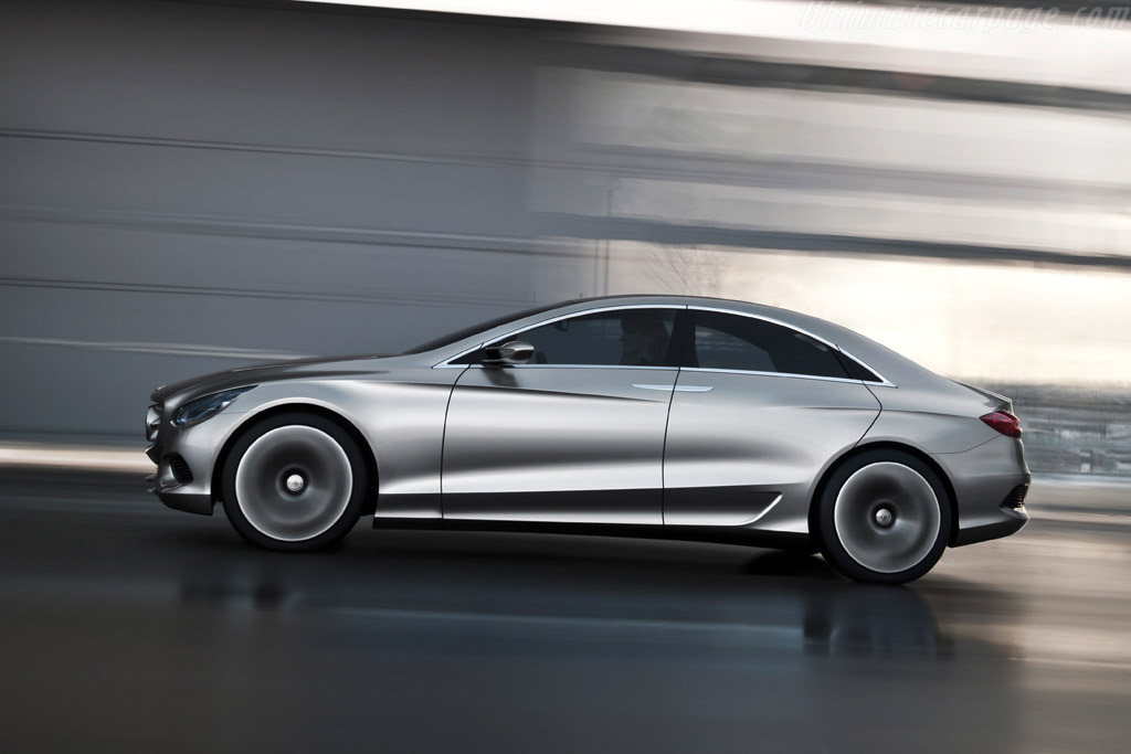 Mercedes benz f 800 style concept for Mercedes benz f