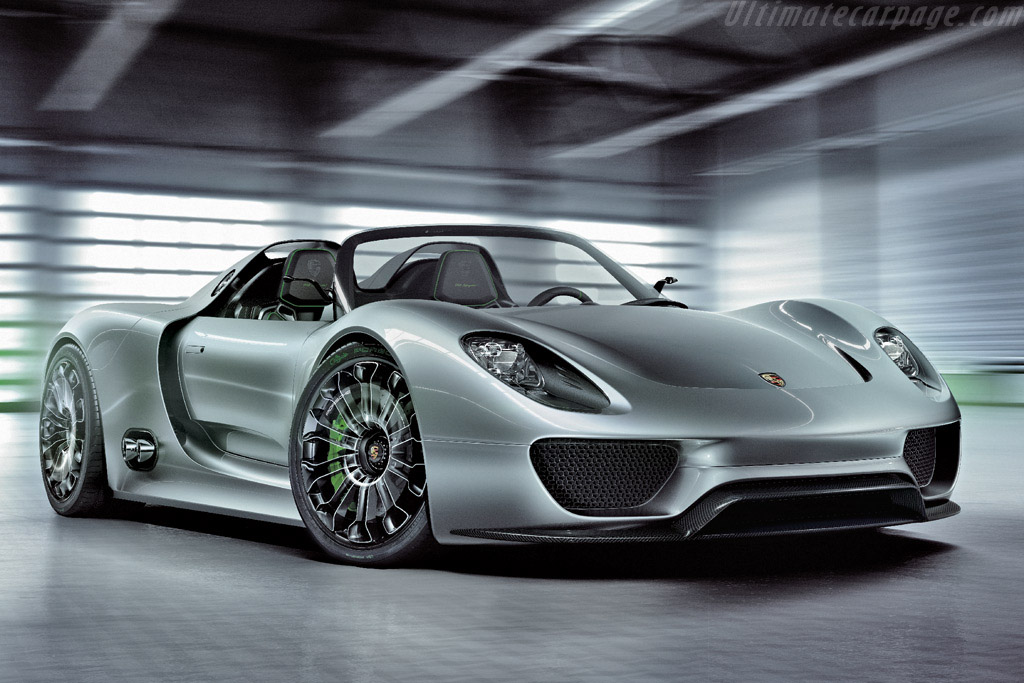Click here to open the Porsche 918 Spyder Concept gallery