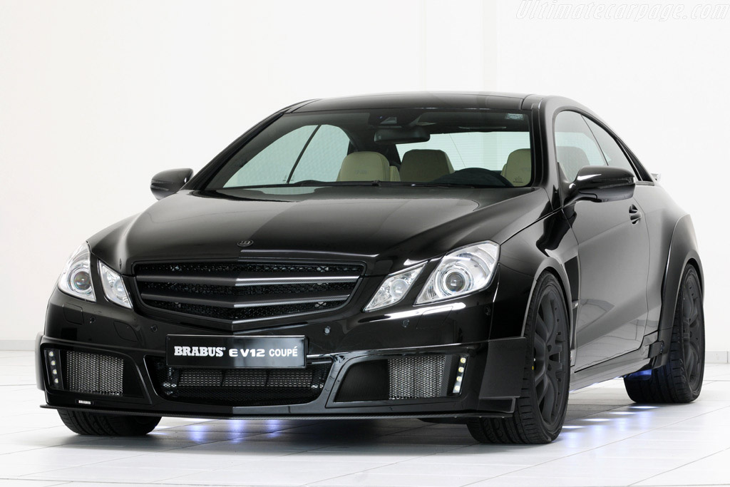 Click here to open the Brabus E V12 Coupe gallery