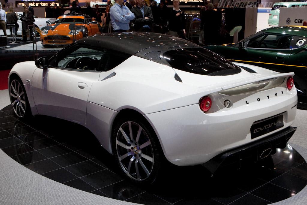 Lotus Evora Carbon Concept    - 2010 Geneva International Motor Show
