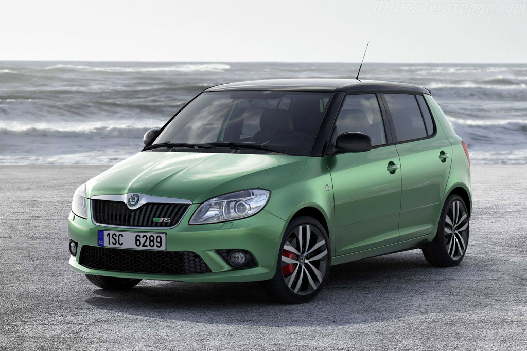 Click here to open the Skoda Fabia vRS gallery