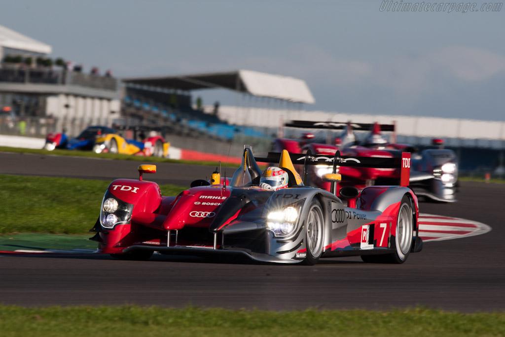 Audi R15 plus TDI    - 2010 Le Mans Series Silverstone 1000 km (ILMC)
