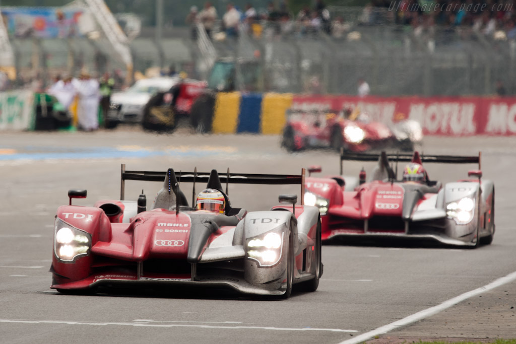 Audi R15 plus TDI - Chassis: 204  - 2010 24 Hours of Le Mans