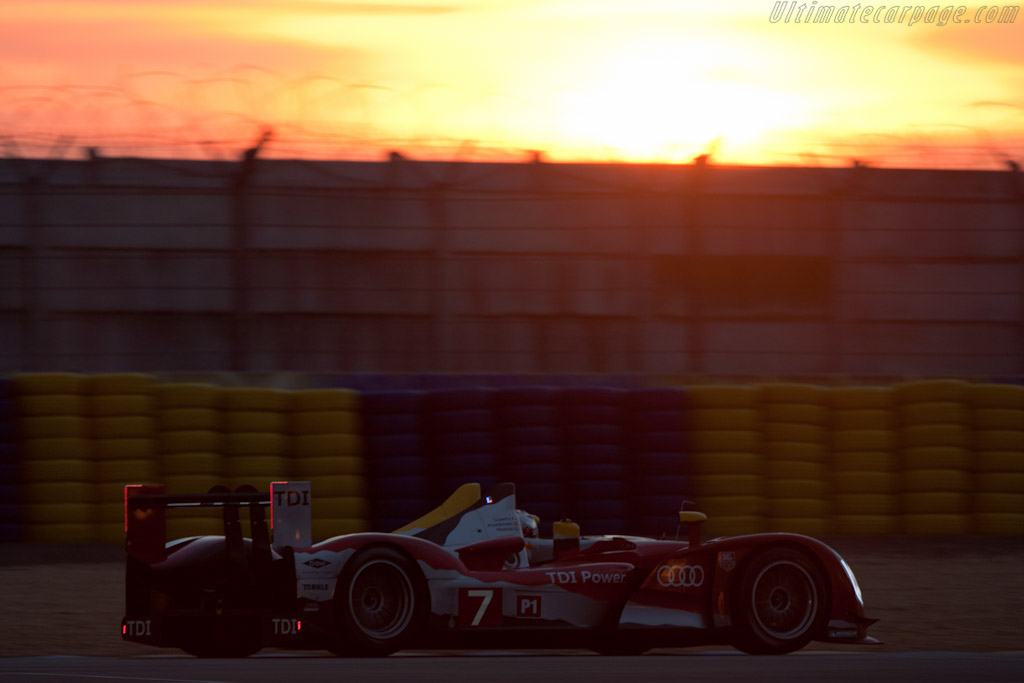 Audi R15 plus TDI - Chassis: 202   - 2010 24 Hours of Le Mans