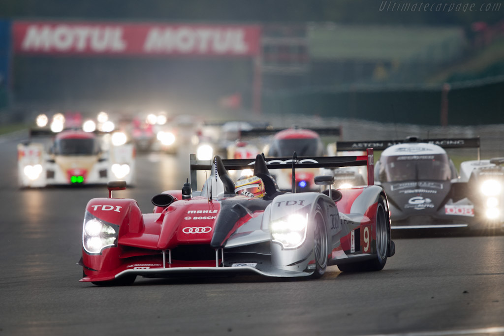 Audi R15 plus TDI - Chassis: 204   - 2010 Le Mans Series Spa 1000 km