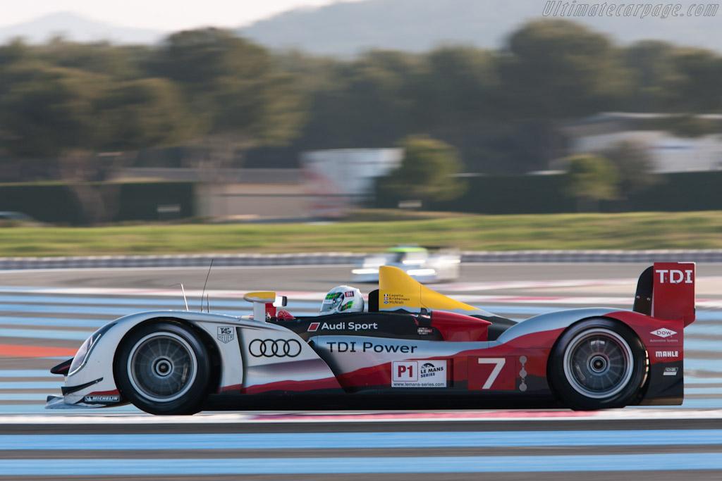 Audi R15 plus TDI - Chassis: 202   - 2010 Le Mans Series Castellet 8 Hours