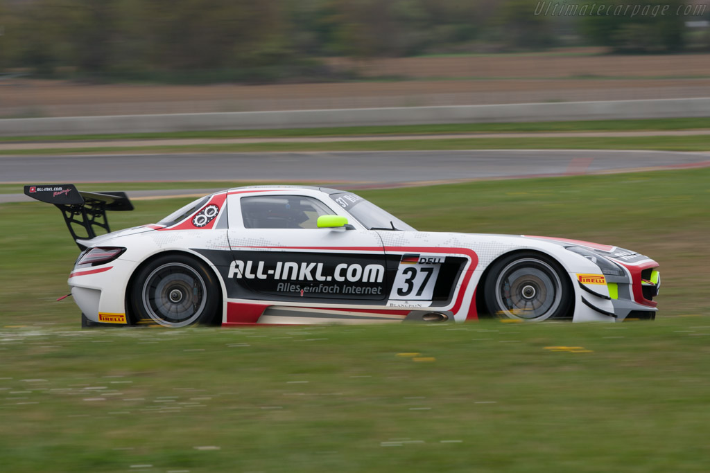 Mercedes-Benz SLS AMG GT3 - Chassis: 062   - 2012 Coupes de Paques