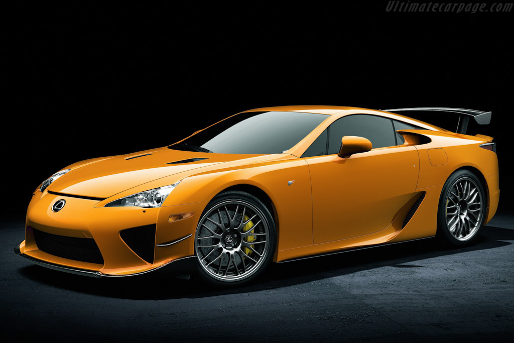 Click here to open the Lexus LFA Nurburgring gallery