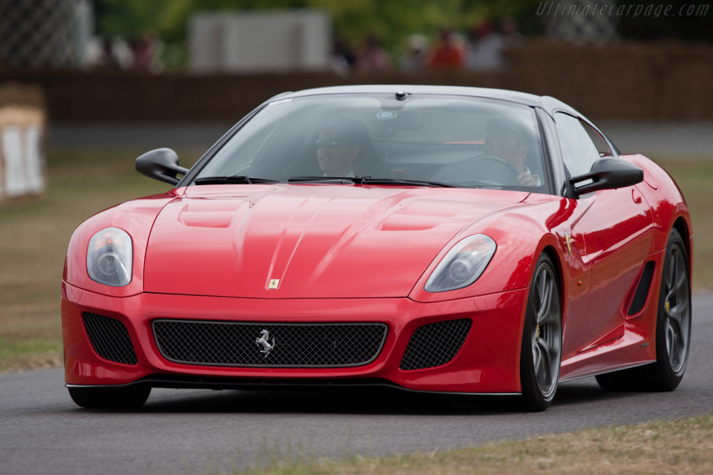 Ferrari 599 GTO    - 2010 Goodwood Festival of Speed