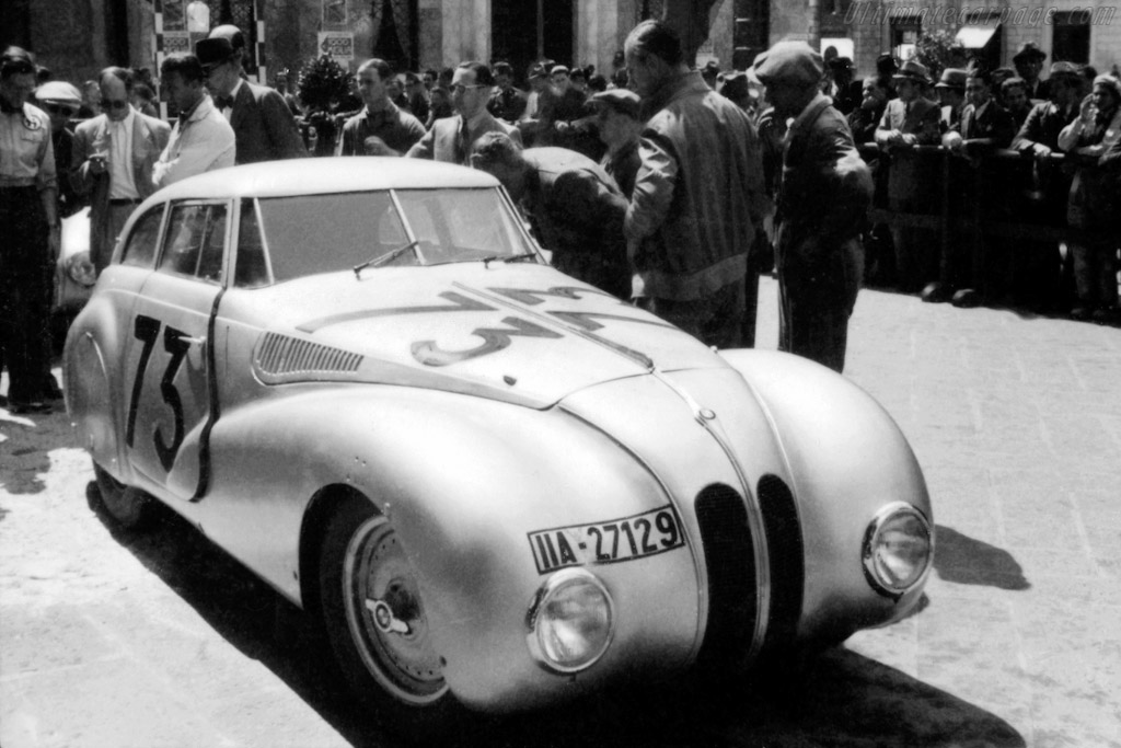 1940 BMW 328 MM Kamm Coupe - Images, Specifications and Information