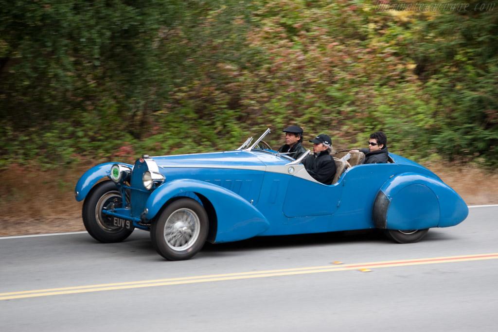 Bugatti Type 57 Tt Bertelli Tourer Chassis 57316 2009