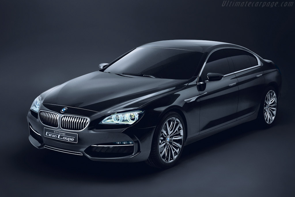 Click here to open the BMW Concept Gran Coupé gallery