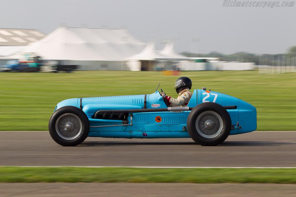 Maserati V8RI - Chassis: 4503   - 2014 Goodwood Revival