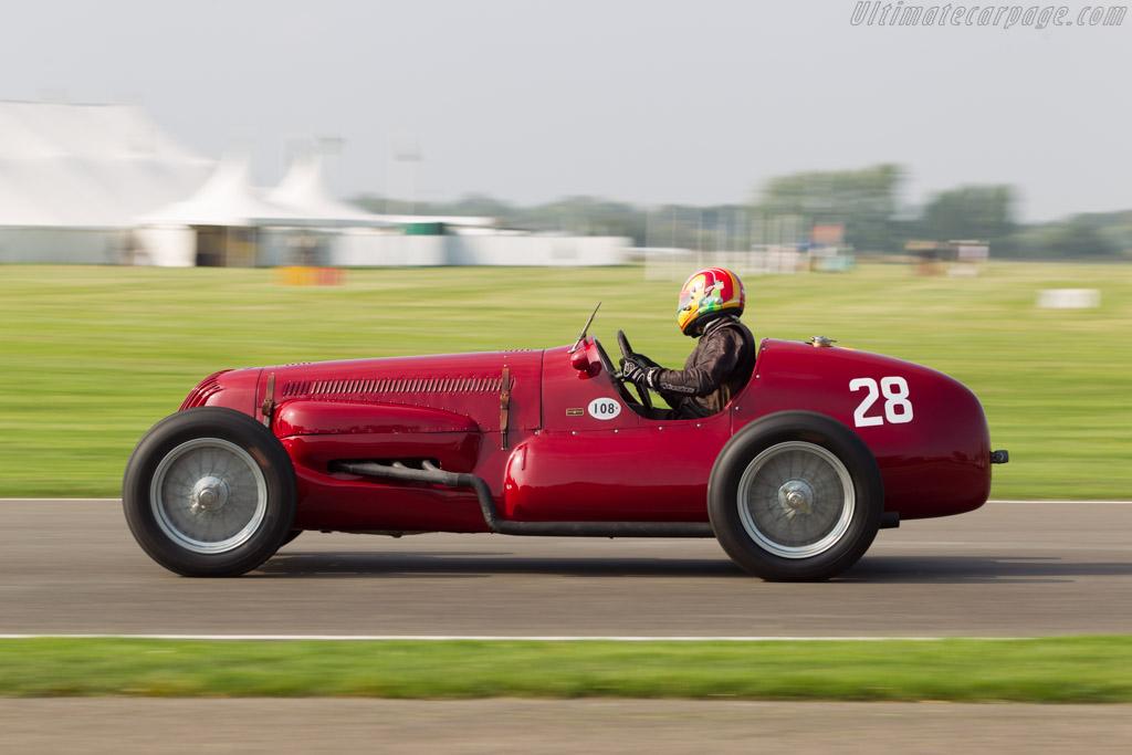 Maserati V8RI - Chassis: 4501  - 2014 Goodwood Revival