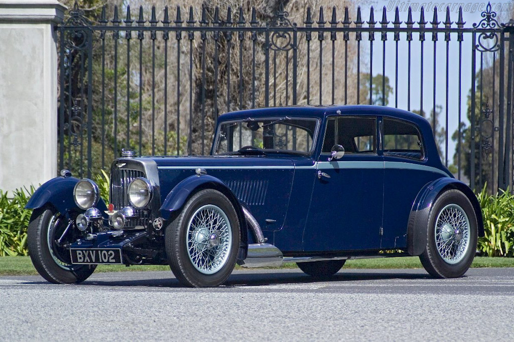1934 1935 Aston Martin Mark Ii Sports Saloon Images Specifications And Information