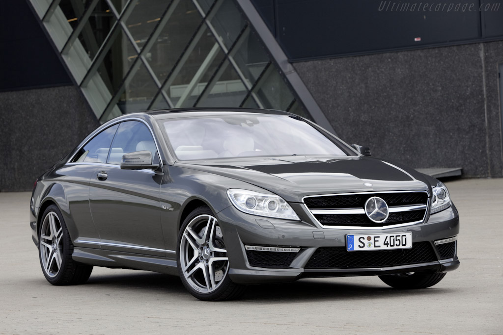 Click here to open the Mercedes-Benz CL 63 AMG gallery