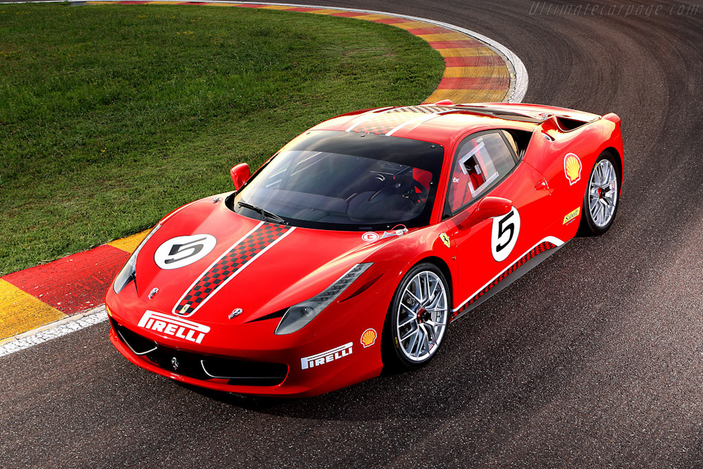 Click here to open the Ferrari 458 Challenge gallery