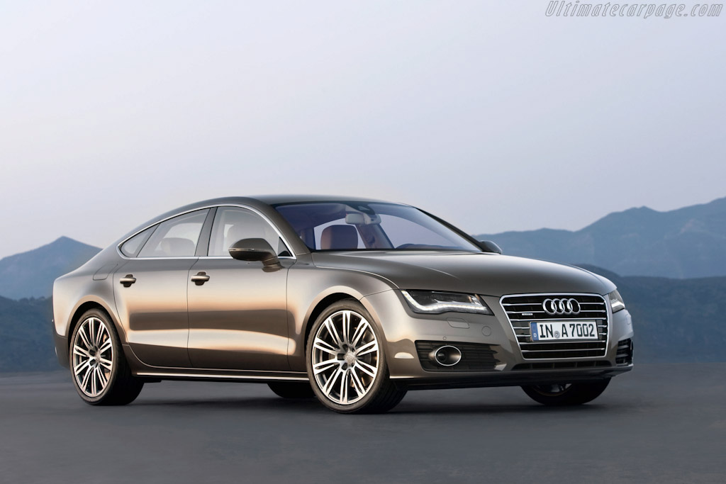 Click here to open the Audi A7 Sportback gallery