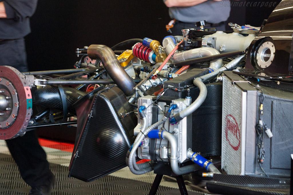 Lola B11/80 HPD - Chassis: B1180-HU05   - 2011 Le Mans Test
