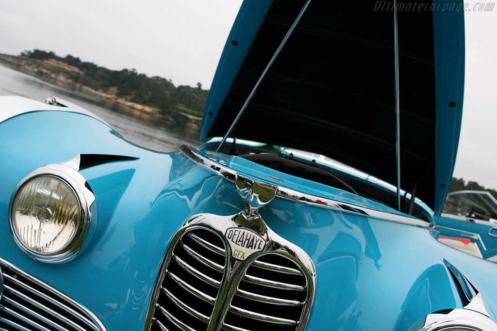 Delahaye 175 S Saoutchik Roadster - Chassis: 815023   - 2007 Pebble Beach Concours d'Elegance