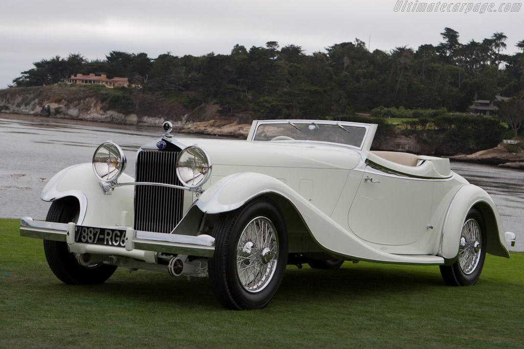 Click here to open the Delage D8 S de Villars Roadster gallery