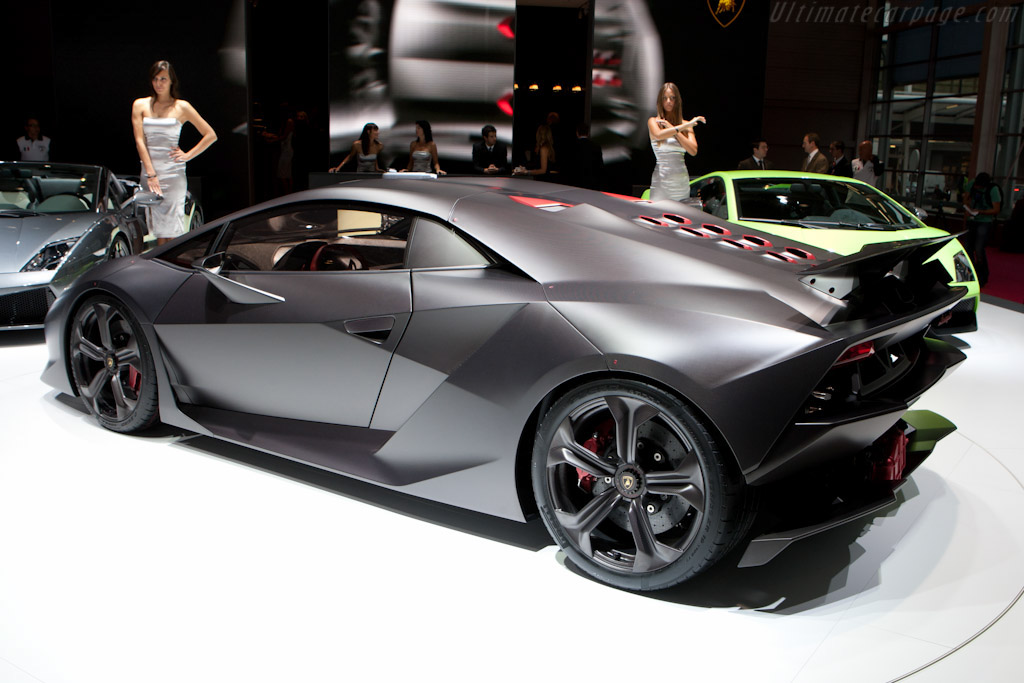 Lamborghini Sesto Elemento Concept    - 2010 Mondial de l'Automobile Paris