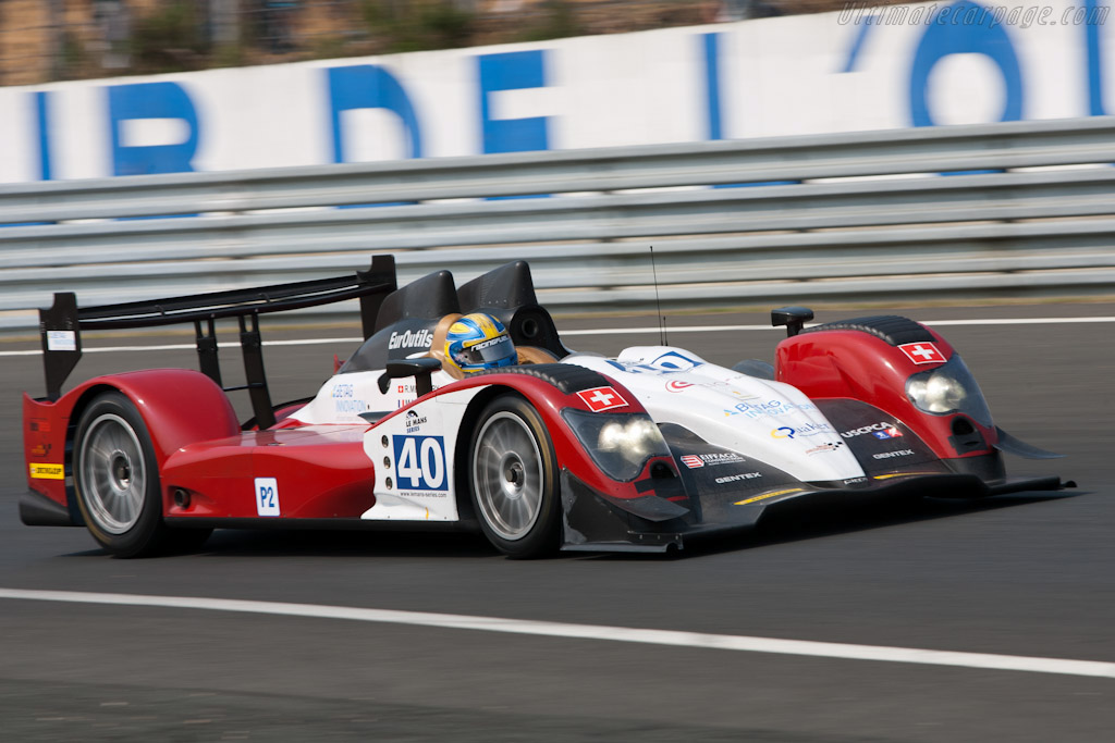 Oreca 03 Judd BMW - Chassis: 02  - 2011 Le Mans Test