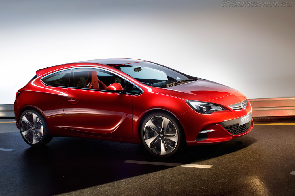 Click here to open the Vauxhall GTC Paris Concept gallery