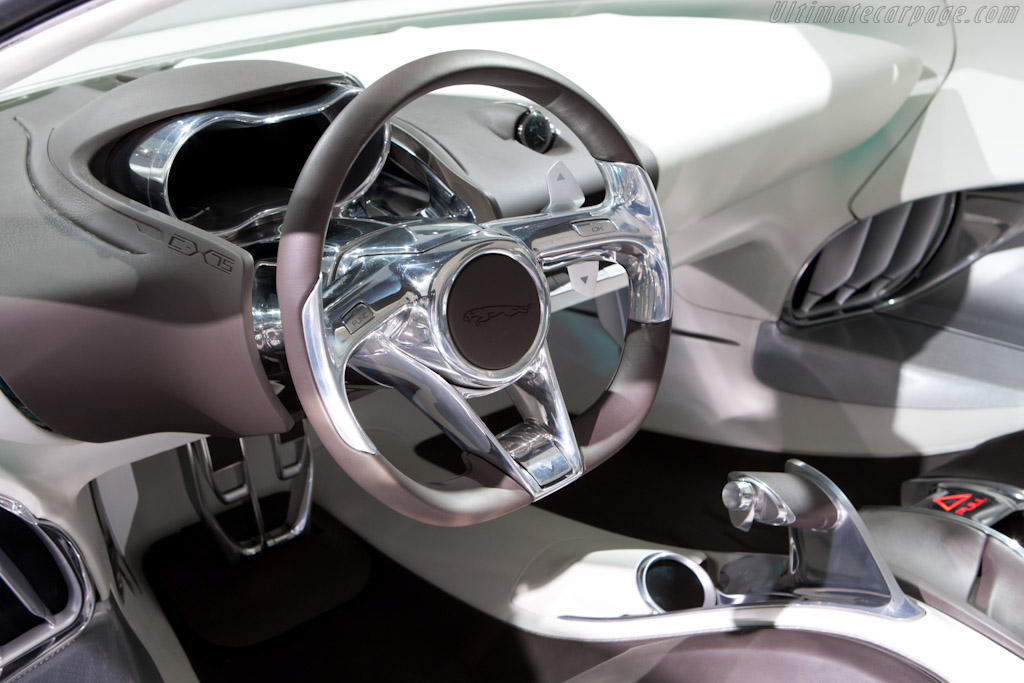 Jaguar C-X75 Concept    - 2010 Mondial de l'Automobile Paris