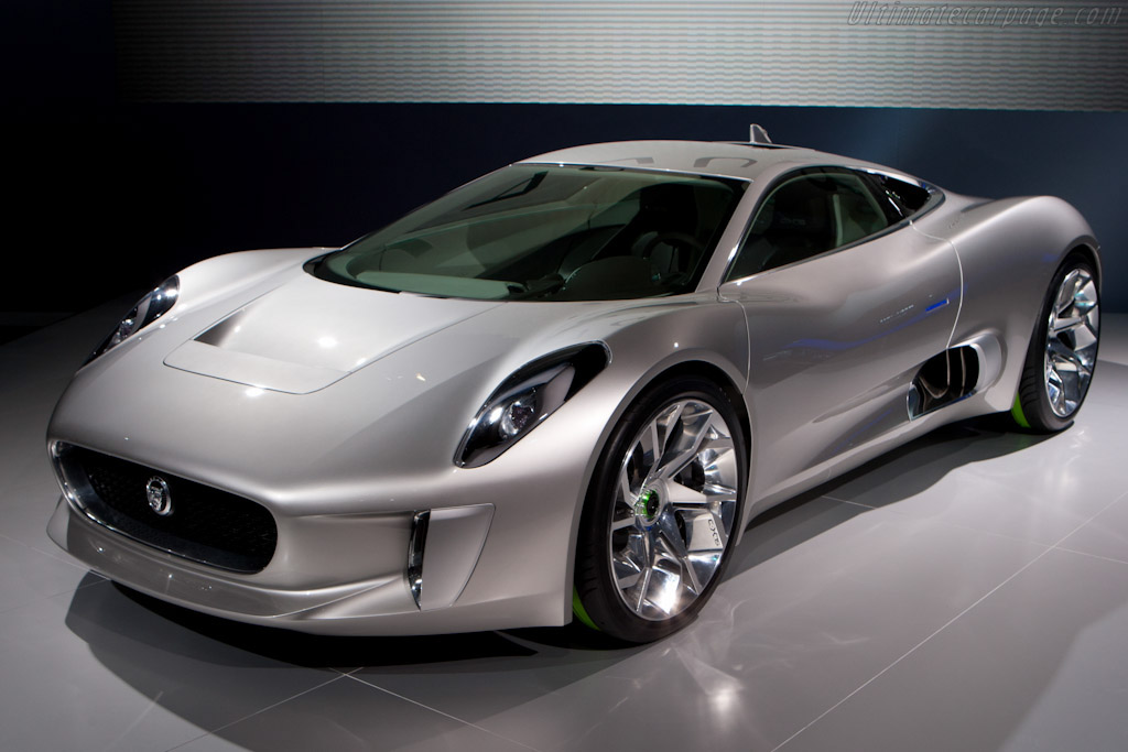 Click here to open the Jaguar C-X75 Concept gallery