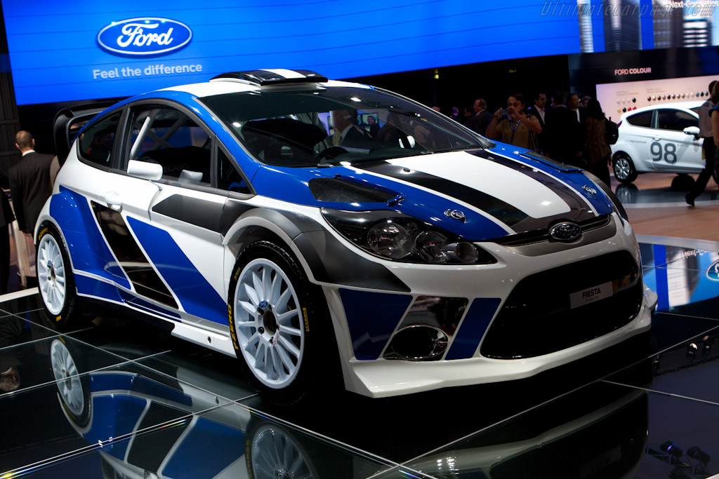 2011 Ford Fiesta RS WRC - Images, Specifications and Information