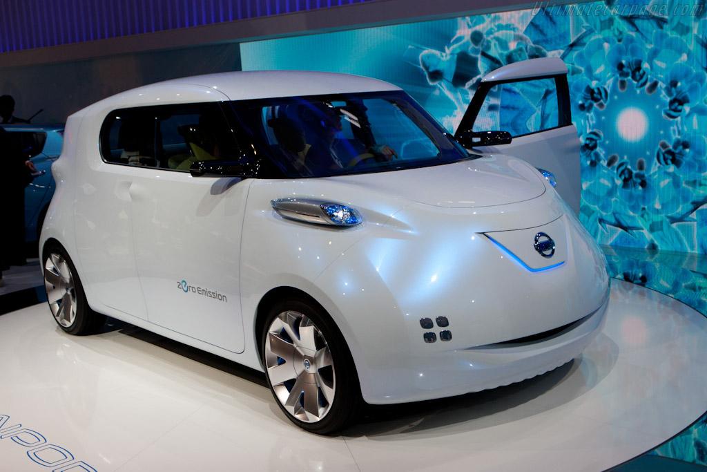 Nissan Townpod Concept    - 2010 Mondial de l'Automobile Paris