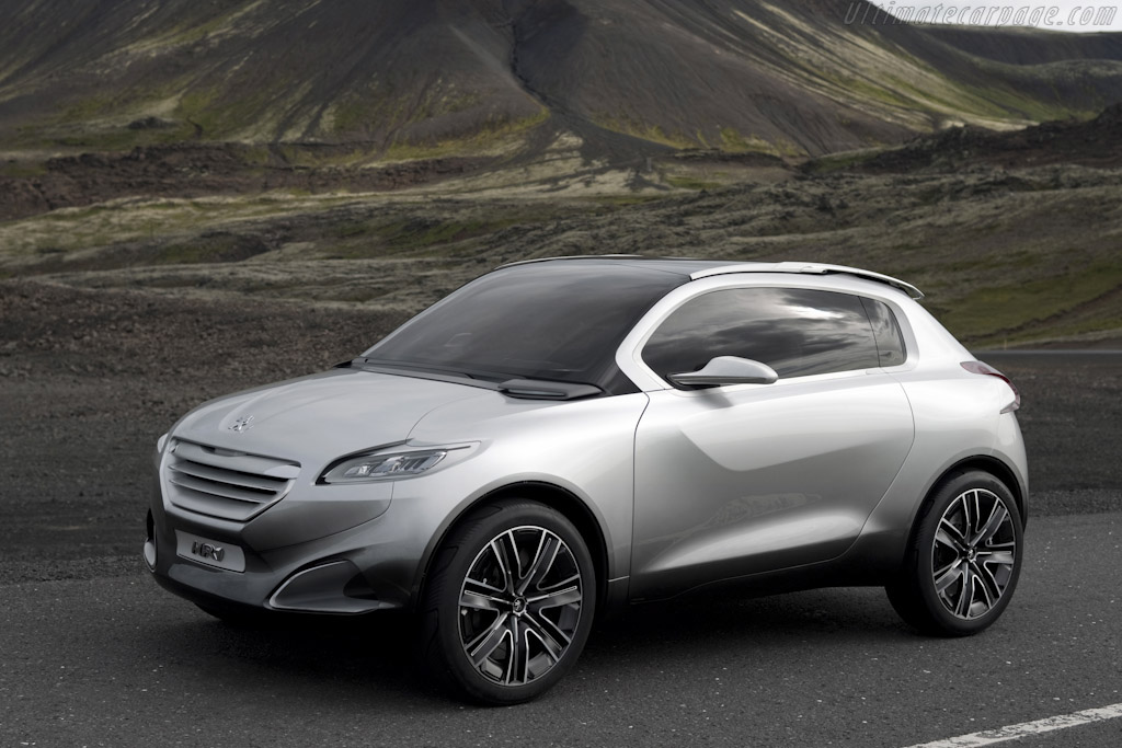 Click here to open the Peugeot HR1 Concept gallery
