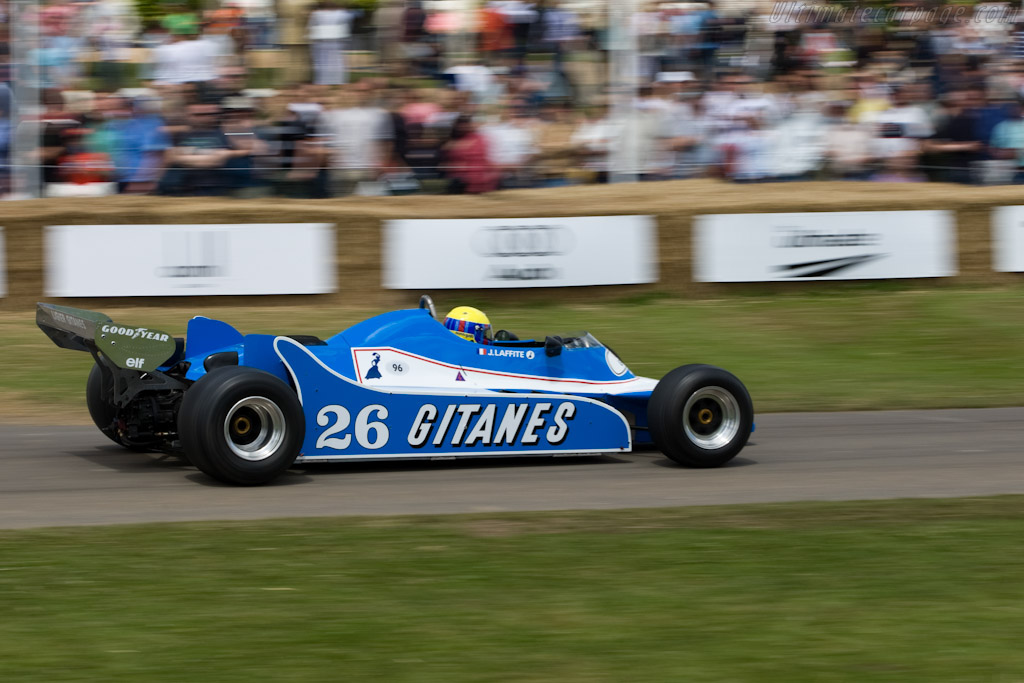 Ligier JS11 Cosworth - Chassis: JS11/02   - 2008 Goodwood Festival of Speed
