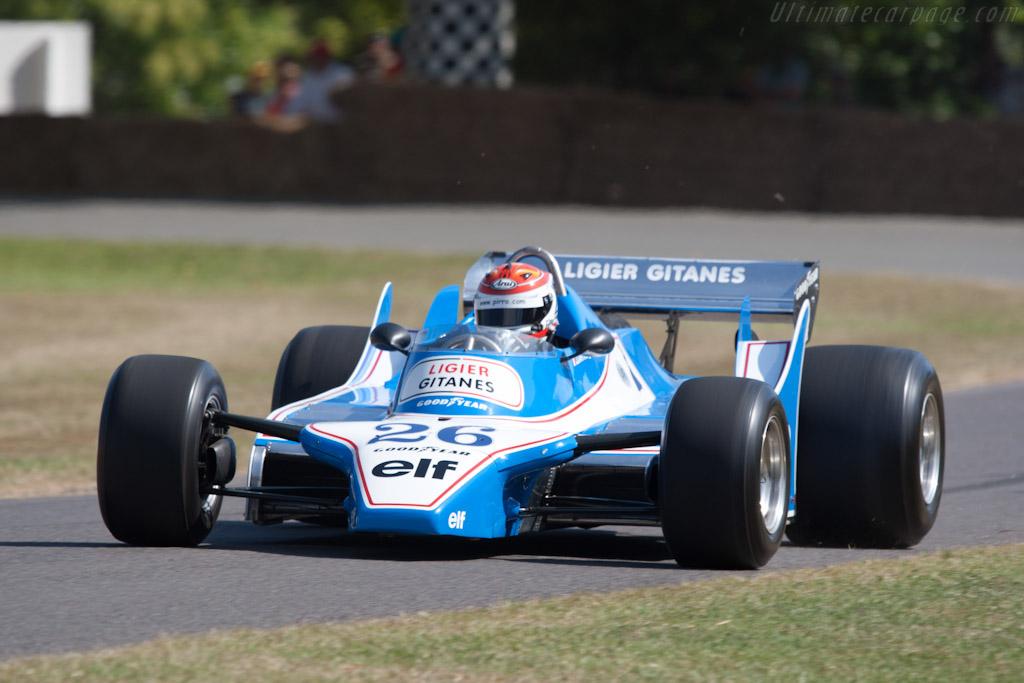 Ligier JS11 Cosworth - Chassis: JS11/02   - 2010 Goodwood Festival of Speed