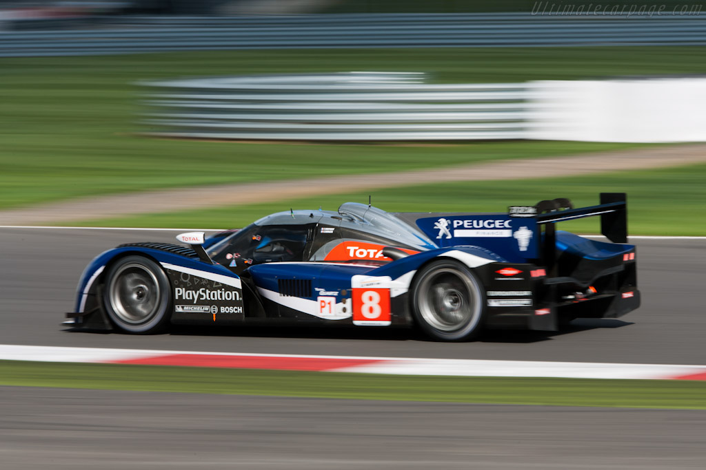 Peugeot 908    - 2011 Le Mans Series 6 Hours of Silverstone (ILMC)