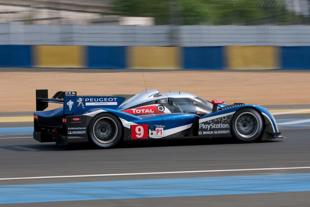 Peugeot 908    - 2011 Le Mans Test