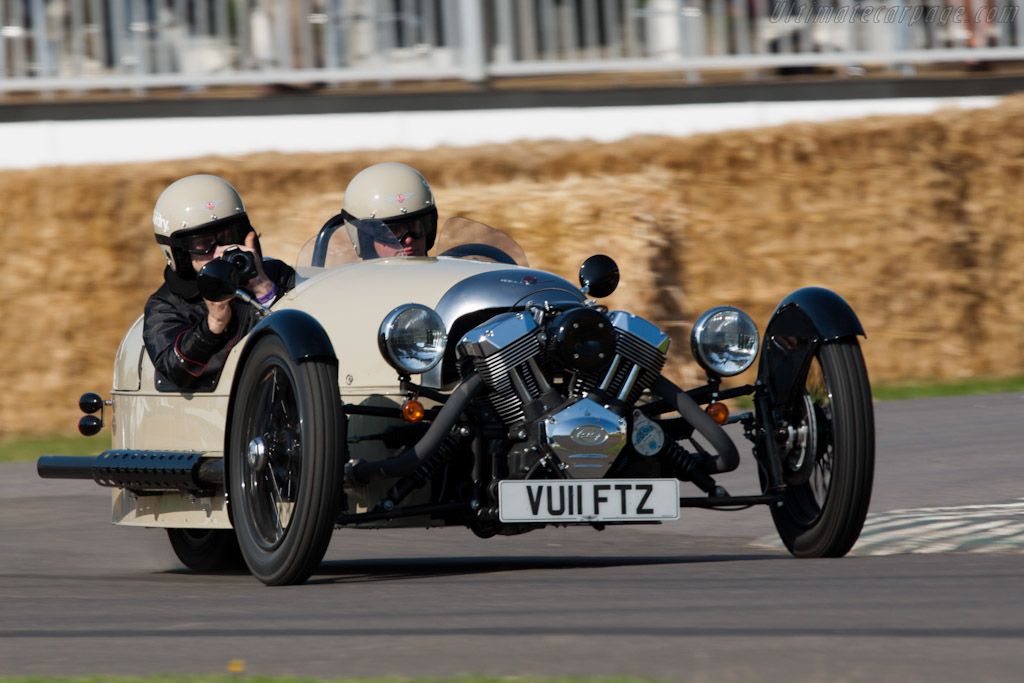 Click here to open the Morgan 3 Wheeler gallery