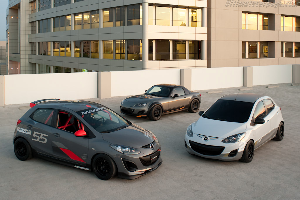 Click here to open the Mazda 2 Evil Track gallery